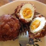 Scotch eggs - the ultimate snack.
